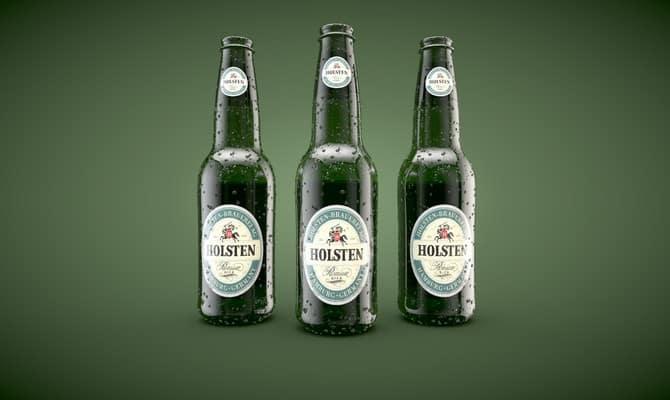 Немецкое пиво Хольстен