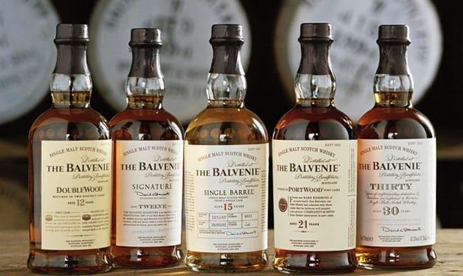 Ноты мёда и пряностей в виски The Balvenie