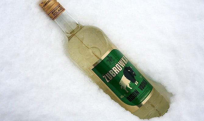 Оригинальная водка Зубровка