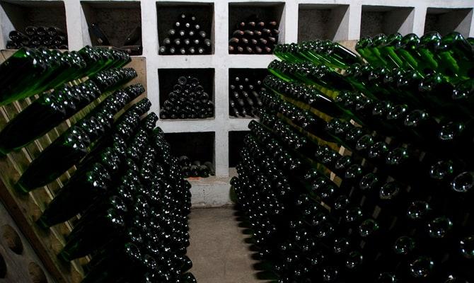 Оригинальное крымское шампанское