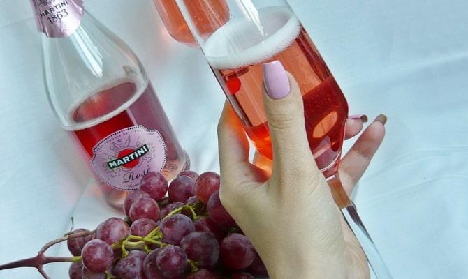 Особенности шампанского Мартини Асти