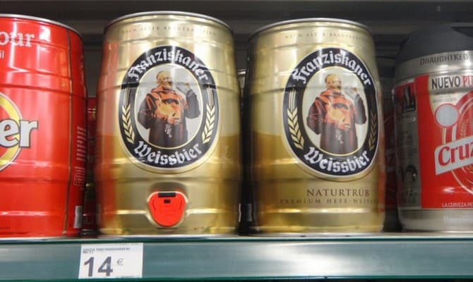 Немецкое пиво Францисканер