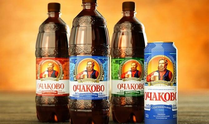 Каким бывает пиво Очаково?