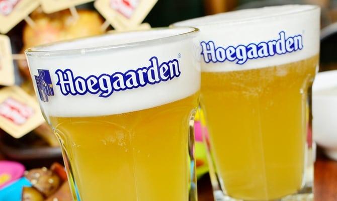 Как пить и закусывать пиво Hoegaarden