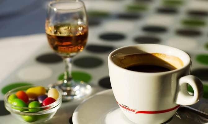 Как приготовить кофе с коньяком?