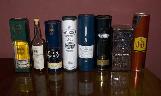 Скотч - настоящий шотландский виски