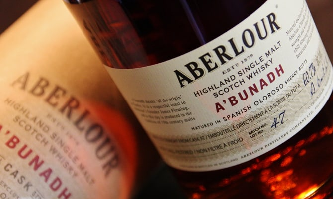 Шотландский виски Aberlour