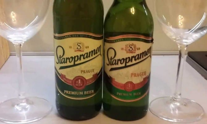 Старый источник — пиво Старопрамен