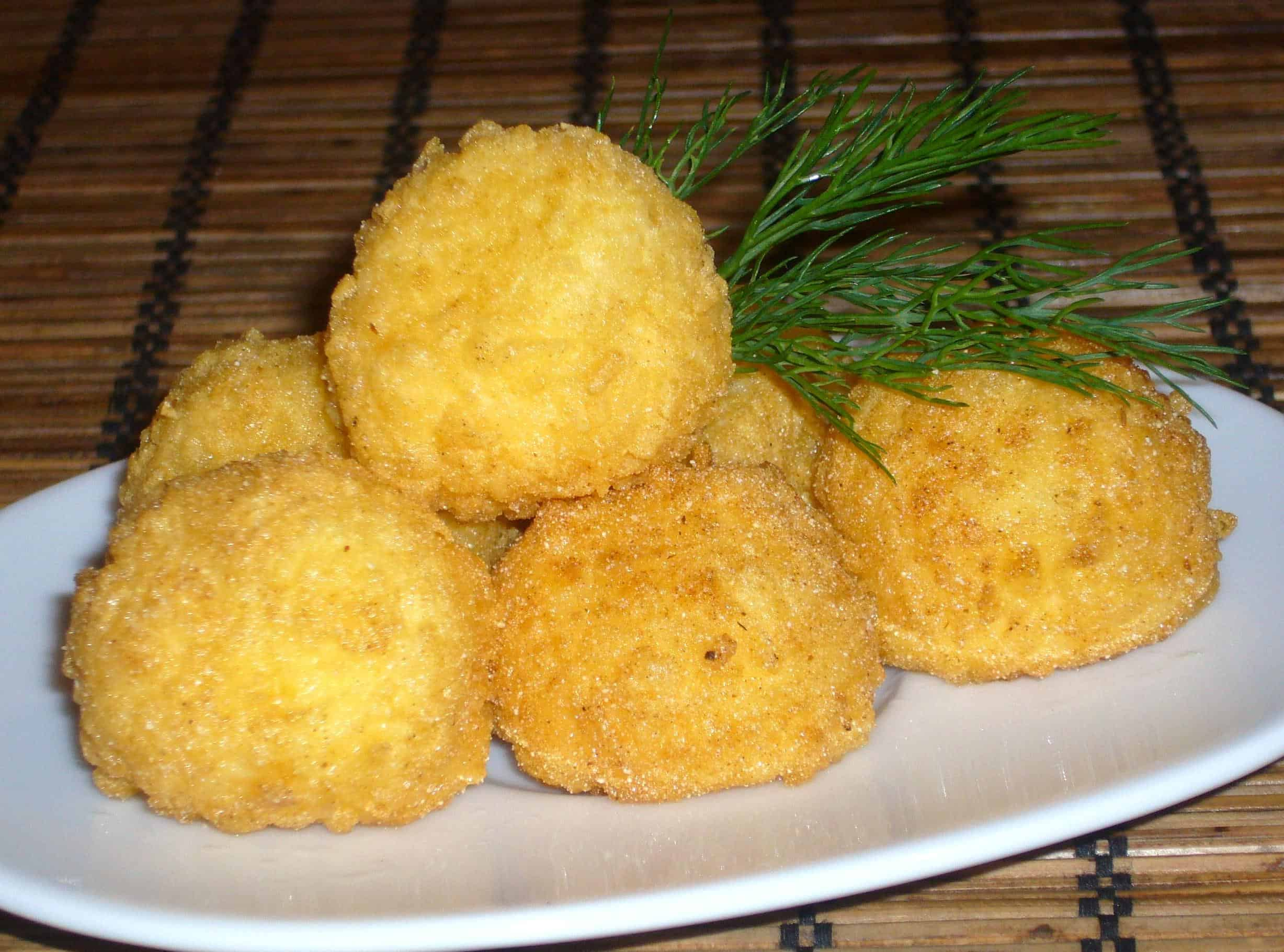 Вкусные шарики из сыра