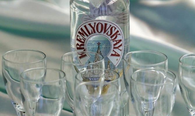 Традиционная водка Кремлевская