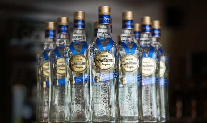 Вкусная белорусская водка Бульбаш