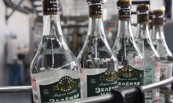 Для кого предназначена водка Зеленая марка?