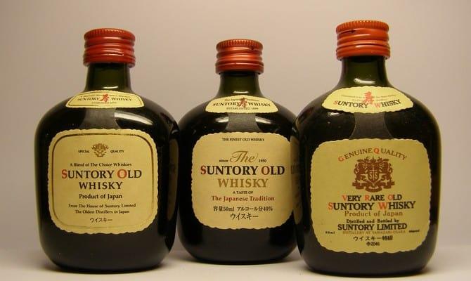 Японский виски сантори