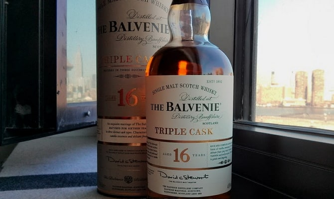 Классический Balvenie Triple Cask 16 Years