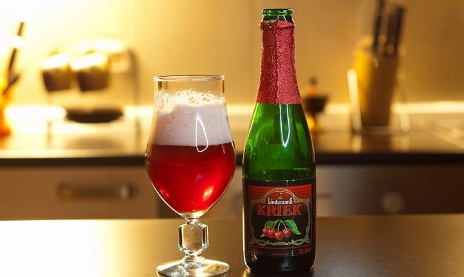 belgijskoe vishnevoe pivo kriek 1 - Необычное бельгийское вишневое пиво Kriek