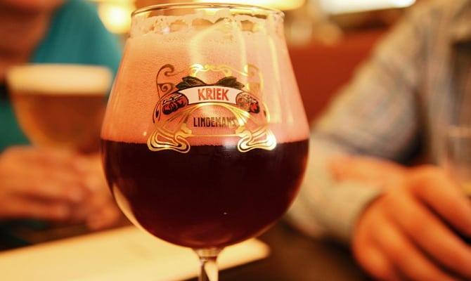 belgijskoe vishnevoe pivo kriek 3 - Необычное бельгийское вишневое пиво Kriek