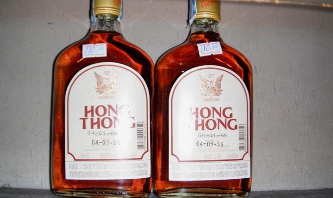Тайский ром Hong Thong