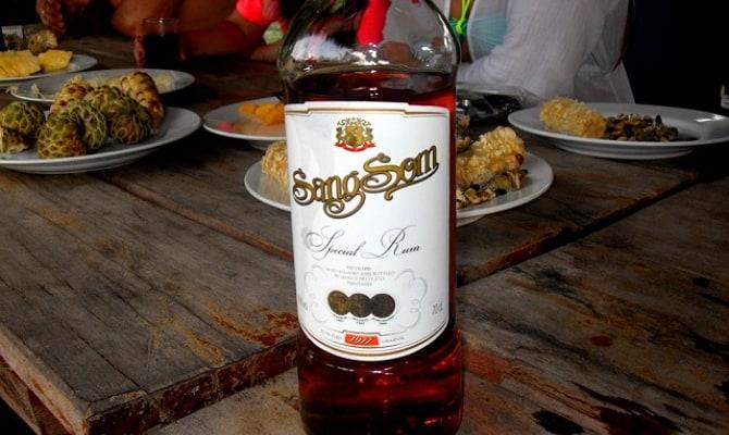 Как и с чем пьют тайский ром?
