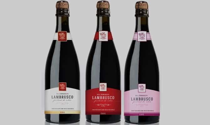 Великолепное вино Ламбруско красное полусладкое игристое