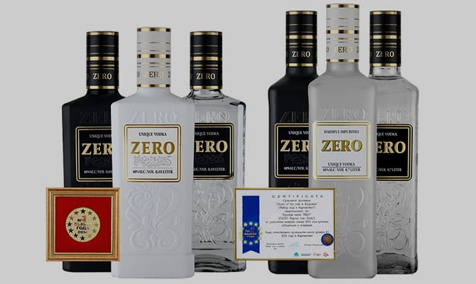 Лидер продаж алкогольных напитков – водка Zero