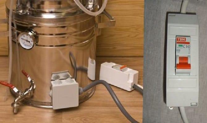 Электрический самогонный аппарат – изготовление бытового дистиллятора с ТЭНом