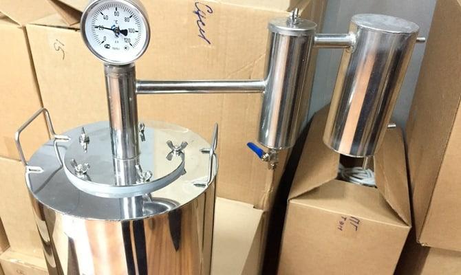 Переходник на кран для самогонного аппарата – подключение аксессуара