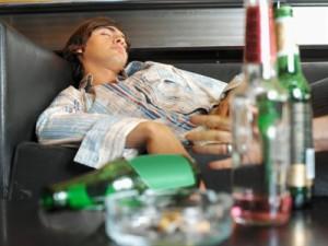 Действие чрезмерного количества спиртного на организм