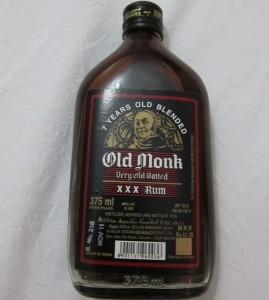 Фото рома марки Old Monk, kvladimirrr.livejournal.com