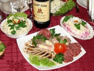 На фото - закуска к виски, vseproviski.ru
