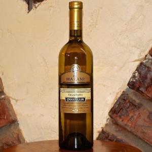 На фото - бутылка белого сухого грузинского вина, ivan-elkin.ru