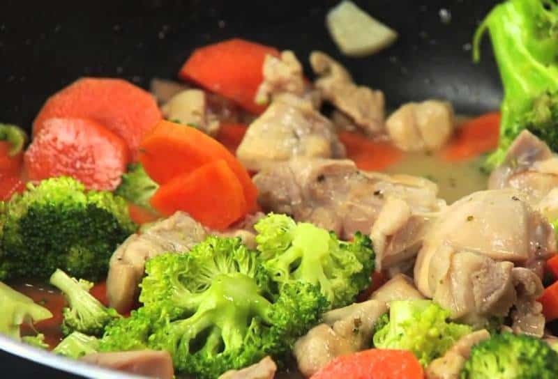 Маринад для овощей на вине