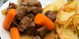 Мясо в белом вине – французские кулинарные изыски на вашем столе
