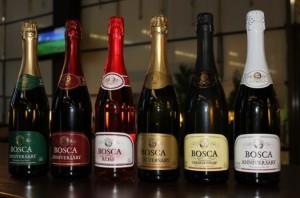 Игристые вина Bosca