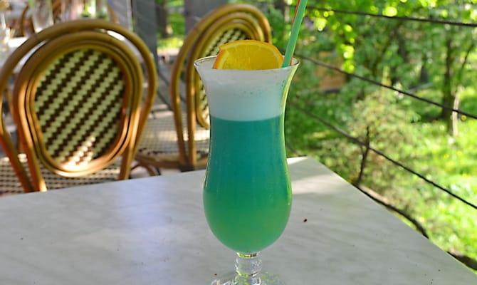 Фото коктейля «Голубые Гавайи»