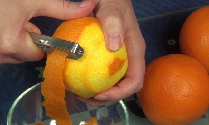 Фото апельсиновой цедры