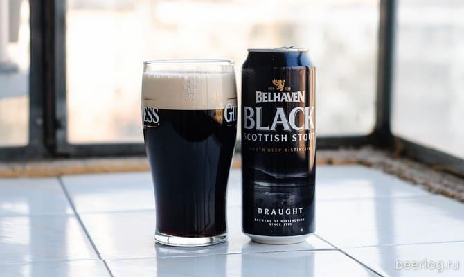 Фото пива Belhaven Black