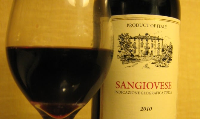 Фото вина Sangiovese