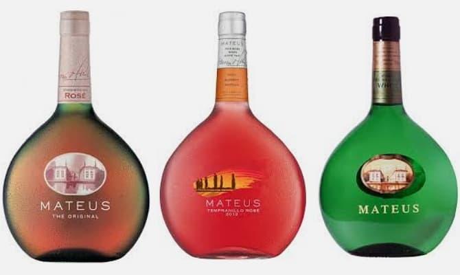 Вина бренда «Mateus»