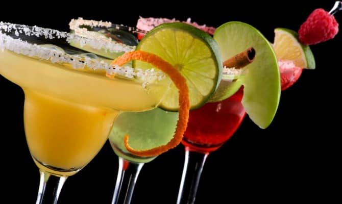 Разные варианты коктейля