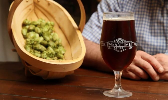 Традиционное пиво в Англии