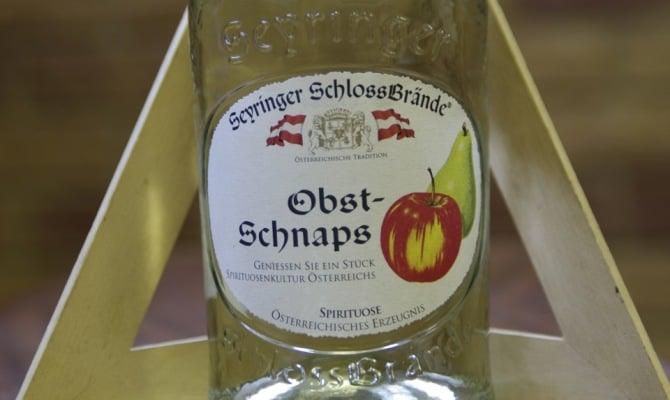 Яблочный шнапс из Германии