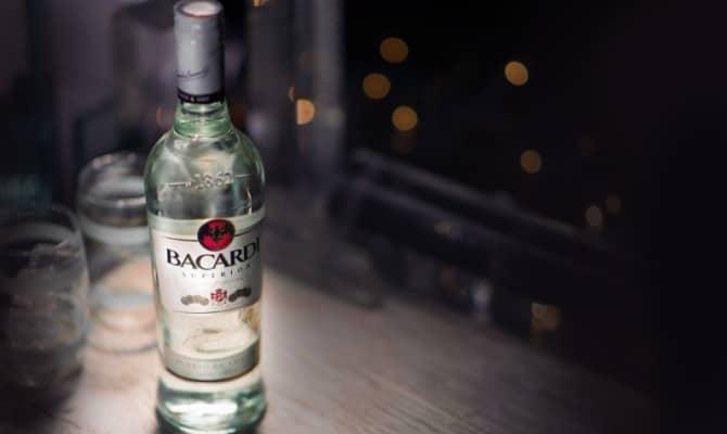 Настоящий элитный напиток Bacardi