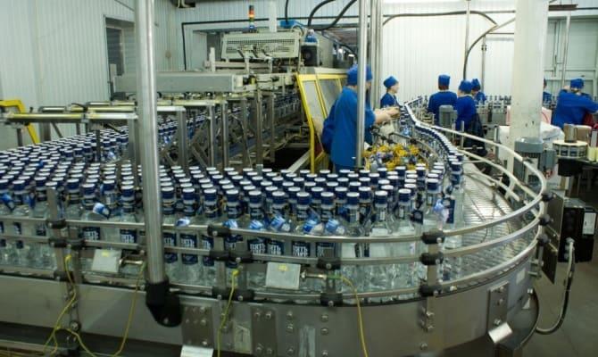 Производство на заводе «Омсквинпром»