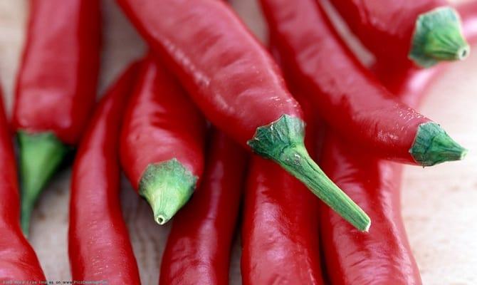 Красный перец для приготовления настойки