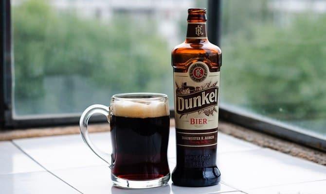 Калорийность темного пива