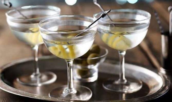 Разнообразные коктейли на основе водки