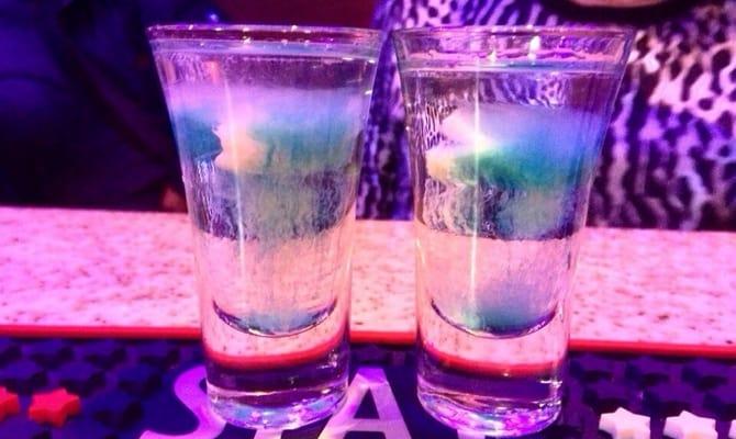 Приготовление коктейля «Медуза»