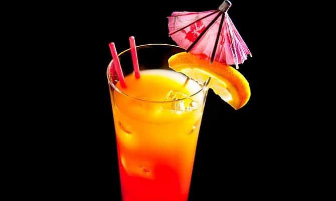 Напиток «Текила Санрайз»
