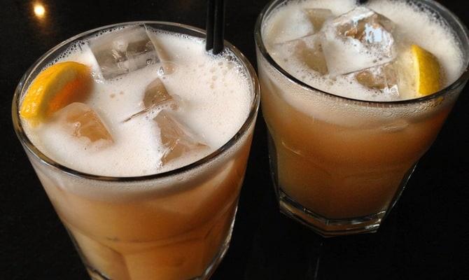 Коктейль Бостонский чай
