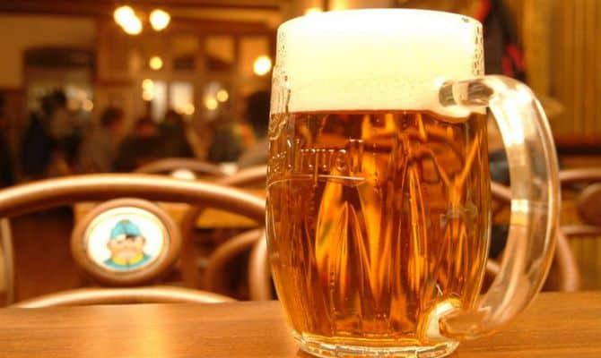 Пиво после фильтрации